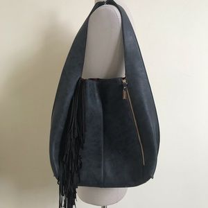 Steve Madden Fringe Boho Shoulder Bag